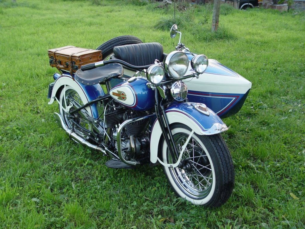 Harley-Davidson W45 de 1937
