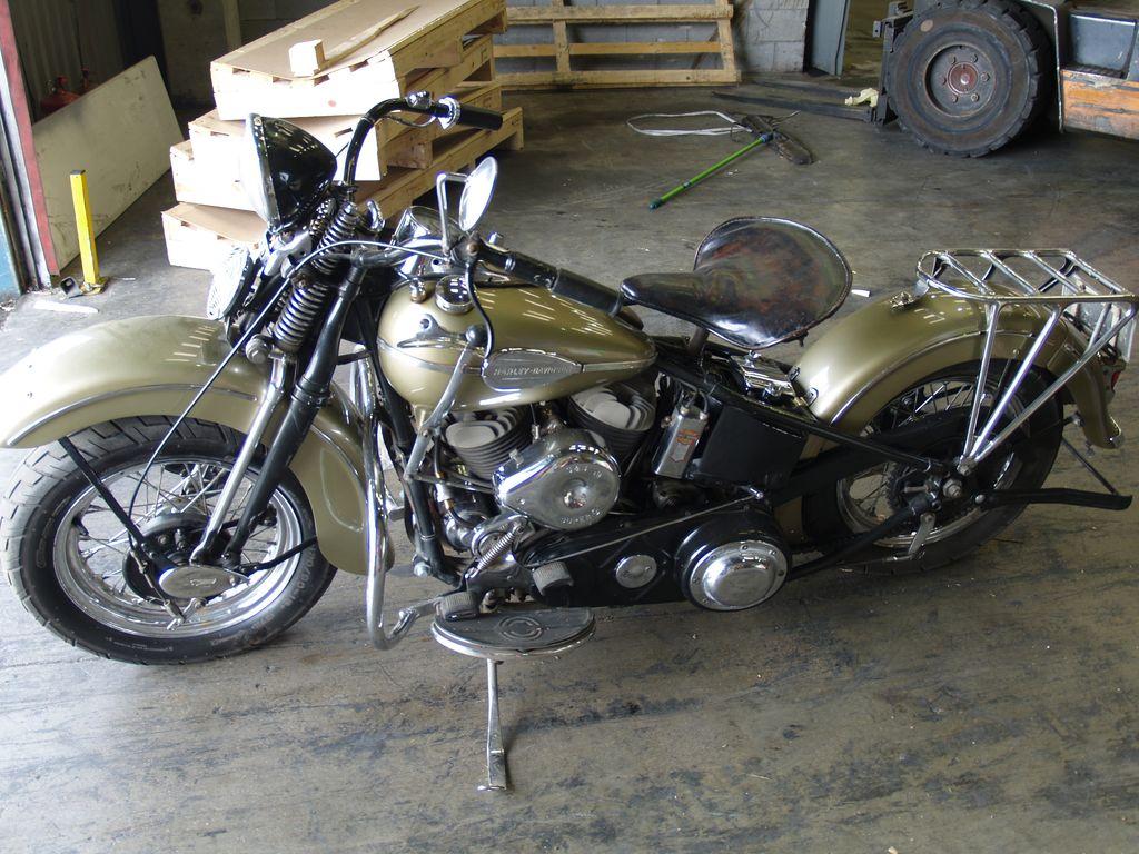 Harley-Davidson U74 de 1941