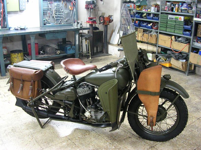 Harley-Davidson WLA de 1942