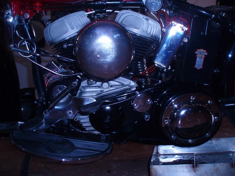 HD WLA de 1943 motor
