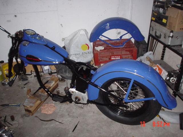 HD WL45 de 1946 en restauración