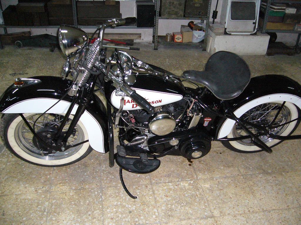 Harley-Davidson WL45 de 1947
