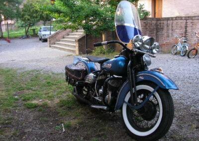 Harley Davidson WL-45 de 1948