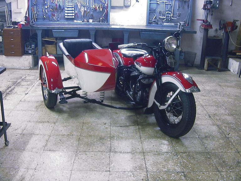 Harley-Davidson WL45 de 1948