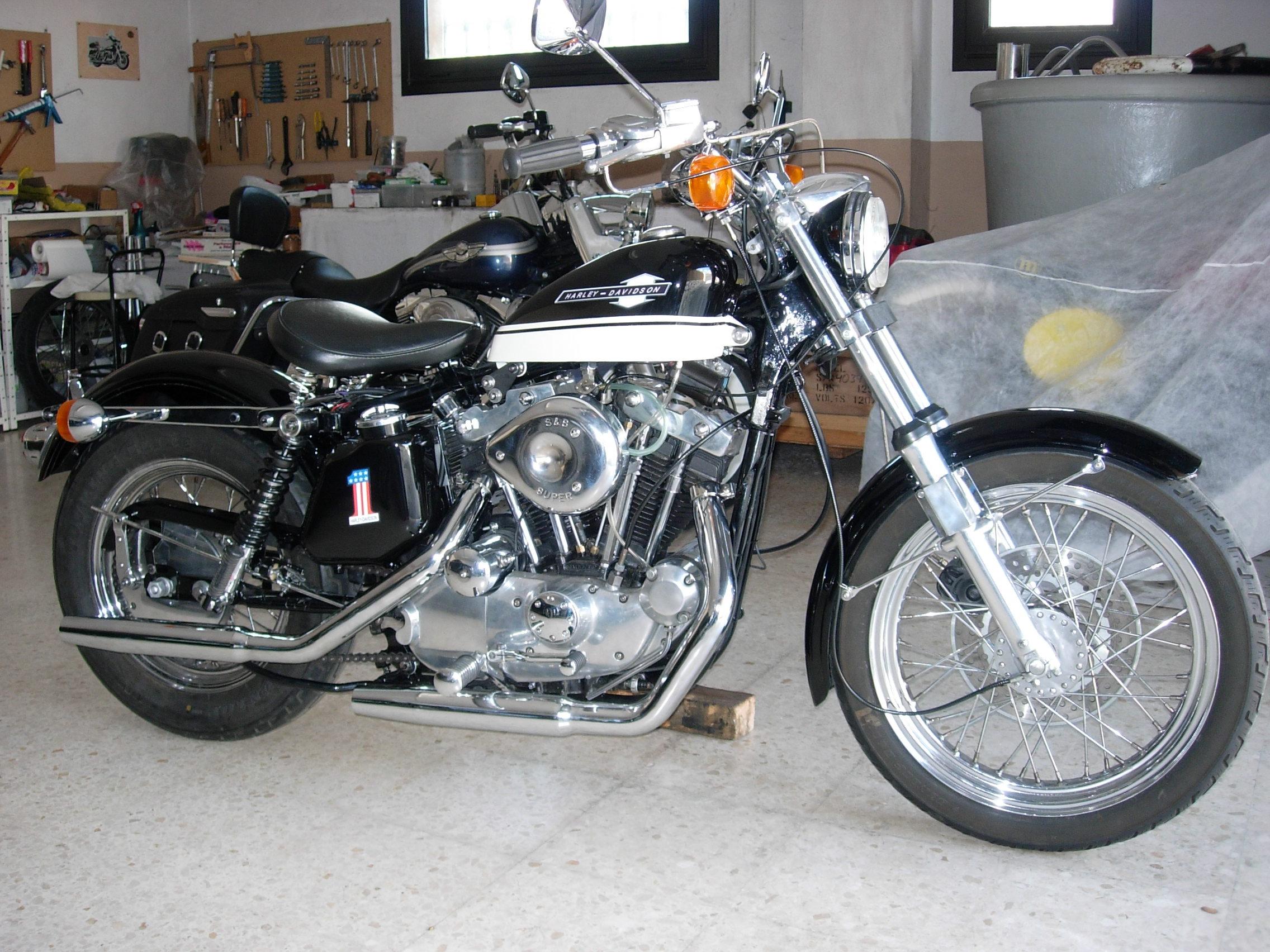 Harley Davidson XLH de 1977