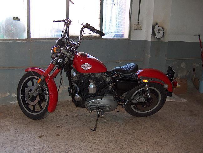 Harley Davidson Sportster XLH-1000 de 1981