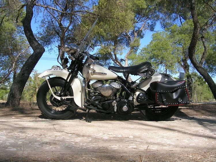Harley-Davidson WL-45 de 1946