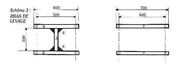 Figura 3 - Brazo de elevación