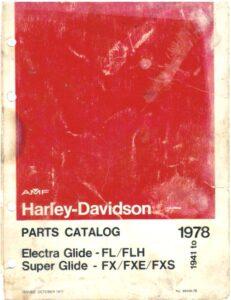 1941-1978 - HD – Parts Catalog