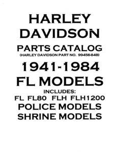 941-84 - HD – Parts Catalog