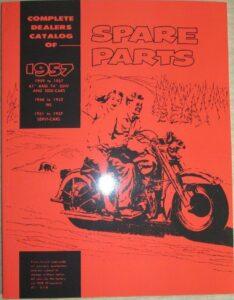 1946-1957 - HD – Spare Parts
