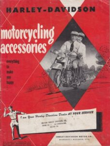 1950 - HD – Motorcycling Accessories