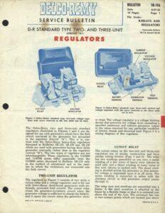 Delco-Remy Service Bulletin