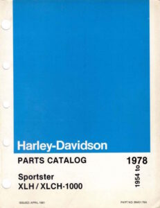 1954-1978 - Sportsters Parts Catalog