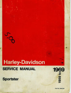 1959-1969 - Sportsters Service Manual