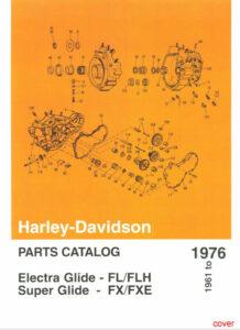 1961-1976 - HD Parts Catalog