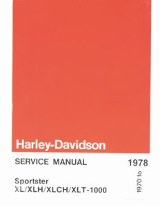1970-1978 - Sportsters Service Manual