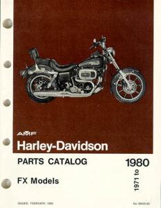 "1971-1980 - HD ""Super-Glide"" Parts Catalog"