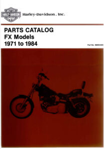 "1971-1984 - HD ""Super-Glide"" Parts Catalog"