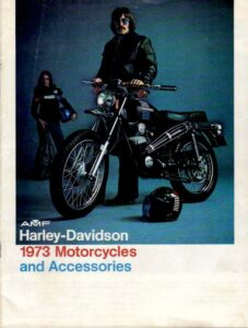 1973 - HD – Motorcycles and Accessories