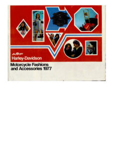 1977 - HD – Motorcycle Fashions and Accessories