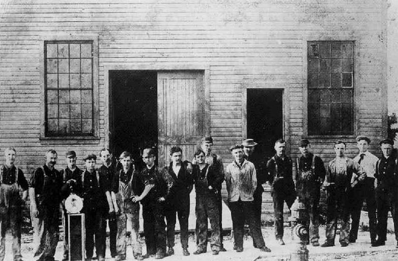 1907 - nueva fabrica