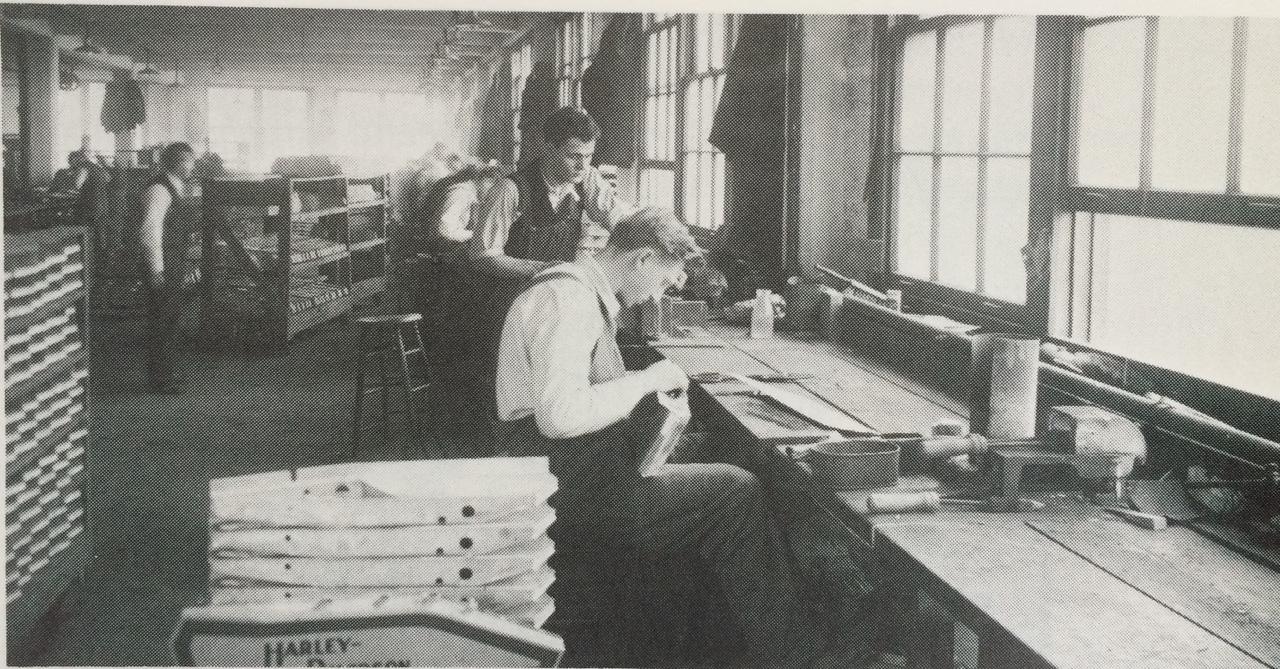 Fabricación de depósitos en la primera década