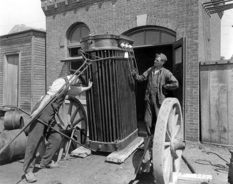 Transformador eléctrico de 3 toneladas - 1913