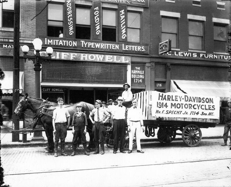 1914 - Carro de transporte