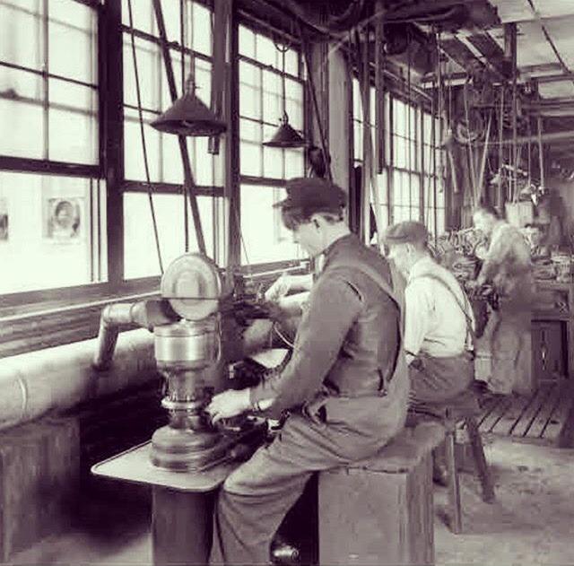 Años 20 - Mecanización de piezas