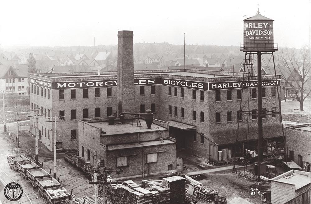 Vista aérea de la fábrica - Años 30
