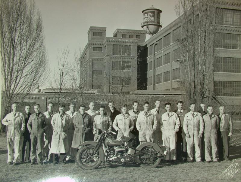 Empleados en los años 30