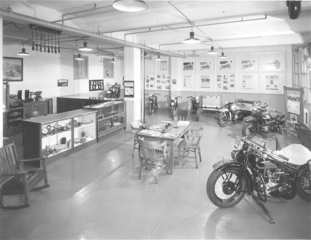Años 30 - Sala de ventas