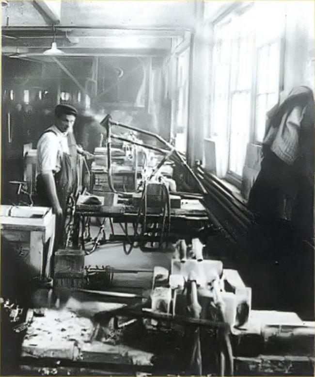 Fabricación de bastidores - Años 30