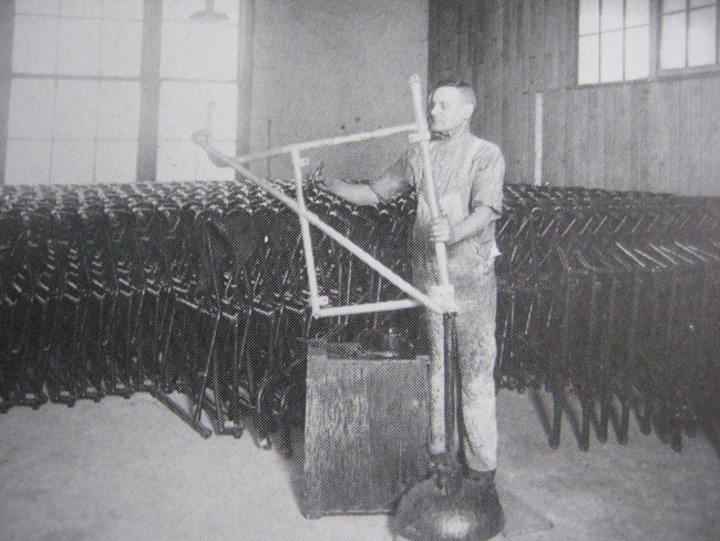 Fabricación del chasis del sidecar