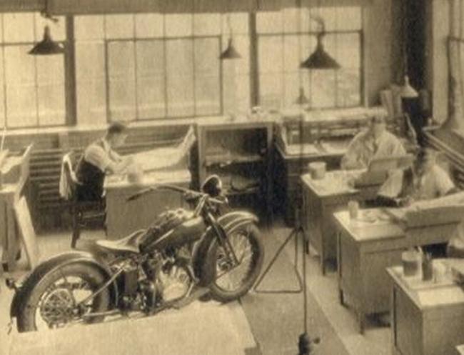 Años 30 - Departamento de diseño