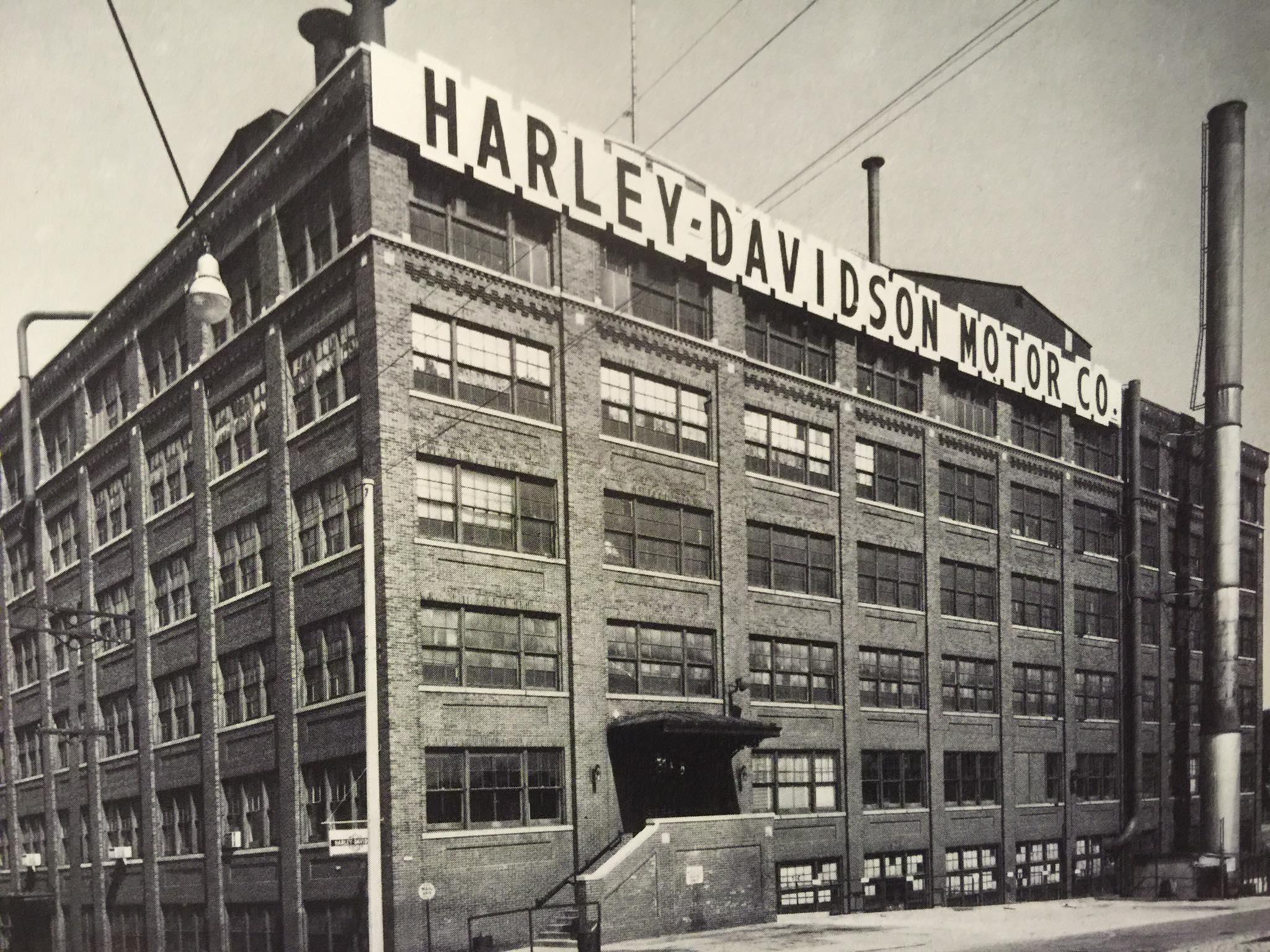 Años 30 - Vista de la fábrica
