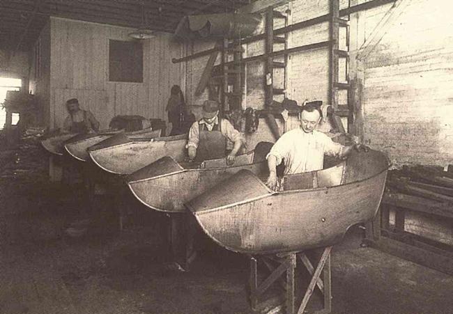 Fabricación barcaza del sidecar