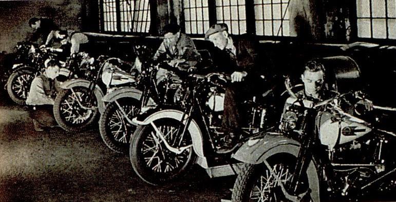 Ajustando los modelos Knucklehead - Años 40