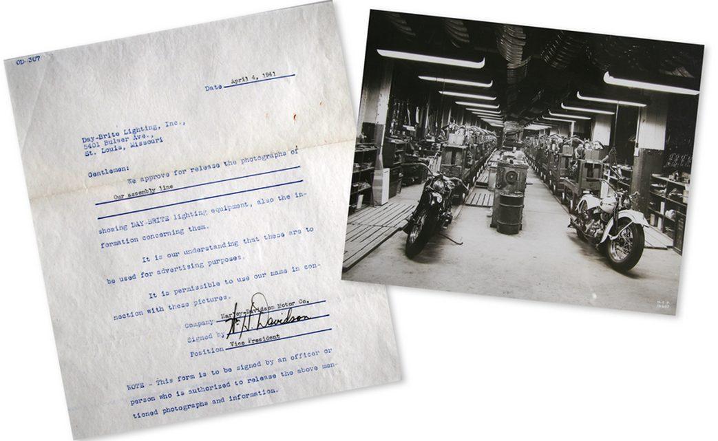 Contrato de fotografía, año 1941