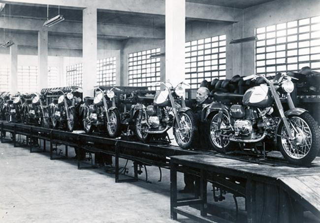 Inspección de modelos - Años 50