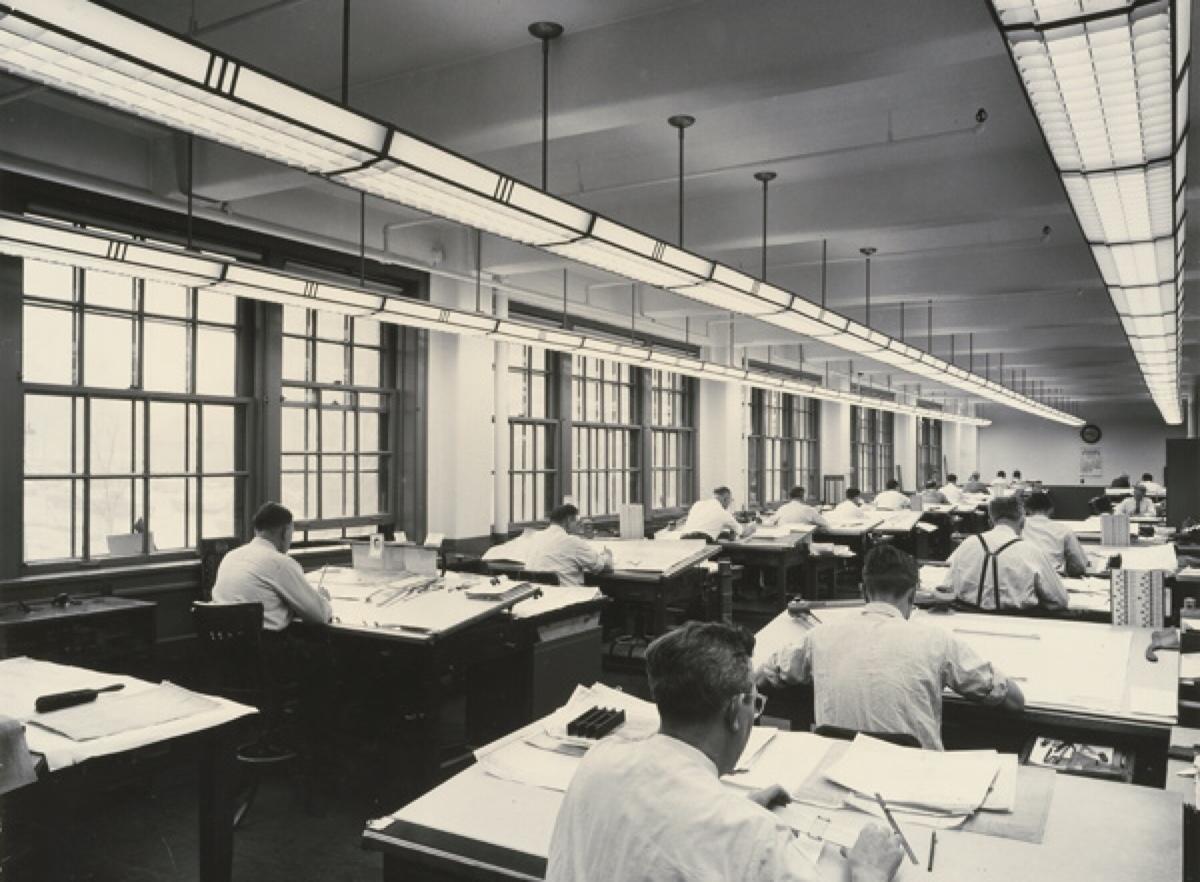 Años 60-70, departamento de diseño