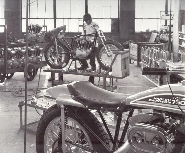 Años 70 - Fabricación del modelo XR-750