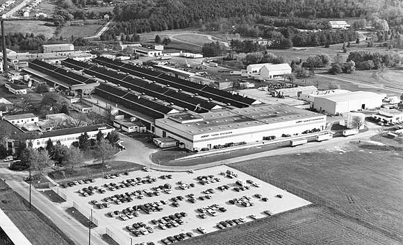 Fabrica HD situada en York, Pennsylvania - Año 1973