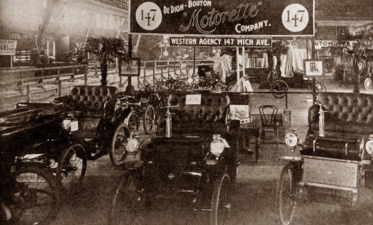 Auto Show de Chicago en 1901