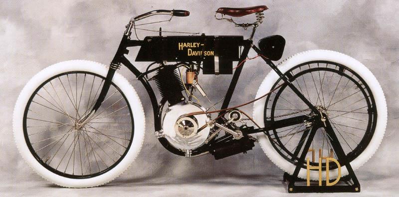 El primer modelo de Harley-Davidson