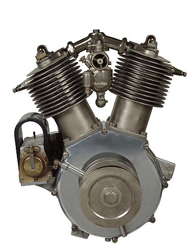 Primer motor V-Twin de 1909