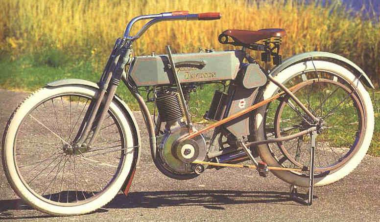 Harley-Davidson modelo 6 de 1910