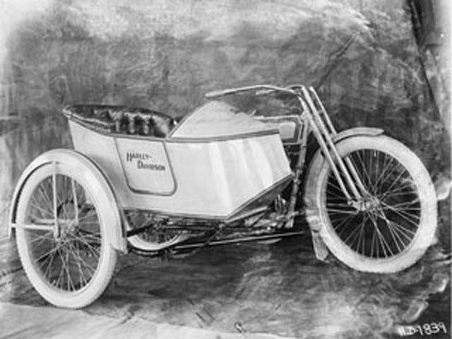 Sidecar Harley-Davidson de 1914