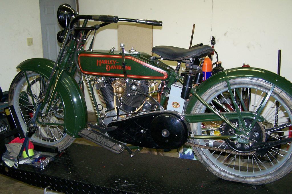 Harley-Davidson modelo JD de 1.200 cc
